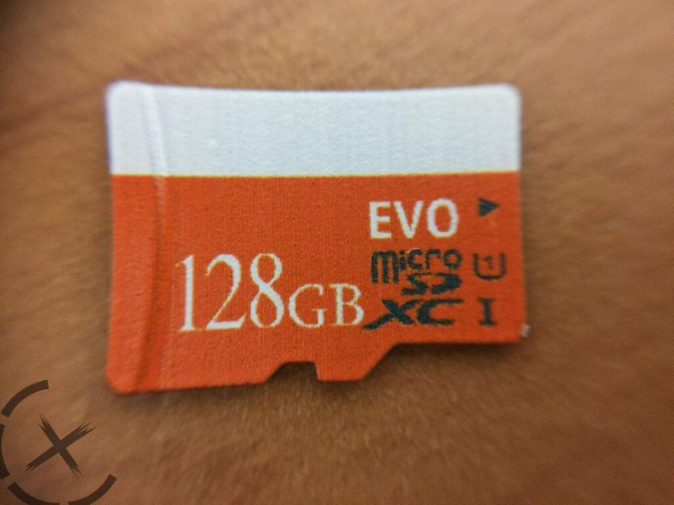 假128GB記憶卡