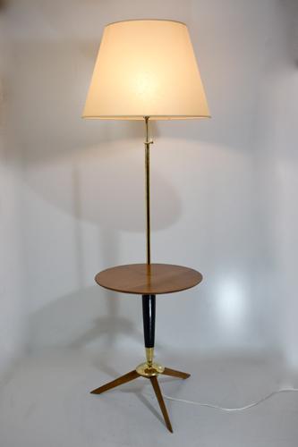 lampadaire vintage tripode avec