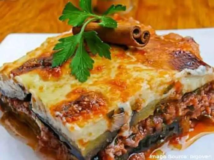 Moussaka European food