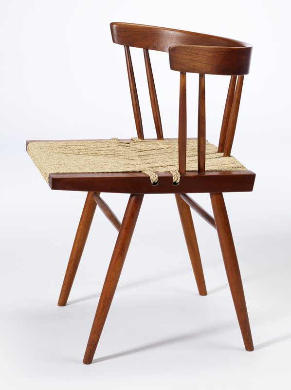 GrassSeated chair George Nakashima Manufacturer George