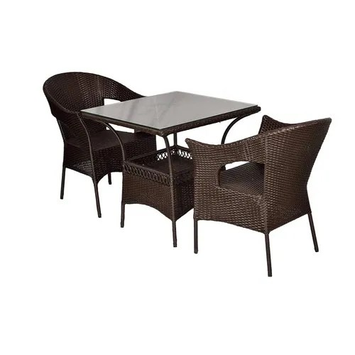 venus outdoor patio furniture set 2 chairs and table set
