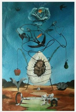 """Circle of life Acrylic Painting, Size: """"24""""""""x30"""""""""""", Rs 18000 /packet 