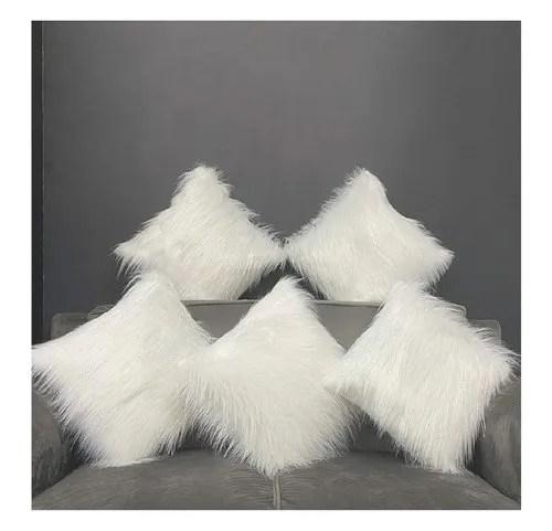 faux fur cushion covers
