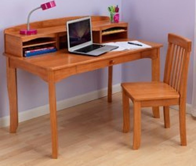 Wooden Study Table With Chair