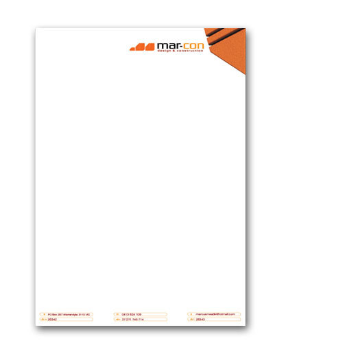 Office Paper Letterhead, Files, Folders & Notebooks