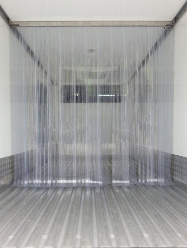 Transparent Plastic Strip Door Curtain Thickness 200 X 3 Mm Strip Rs 170 square feet  ID