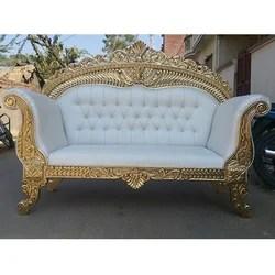 wedding sofa convertible loveseat bed with chaise wood diamond rs 24000 set kanan enterprises id