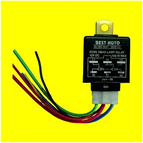 12v 5 pin relay wiring diagram simplicity prestige headlamp with 6 best auto industries delhi