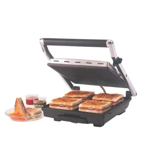 Steel 2000 Watts Borosil Super Jumbo Grill Sandwich Maker. For Sandwich Maker Griller. Rs 4140 /unit   ID: 20833777155