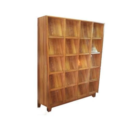library wood magazine display rack