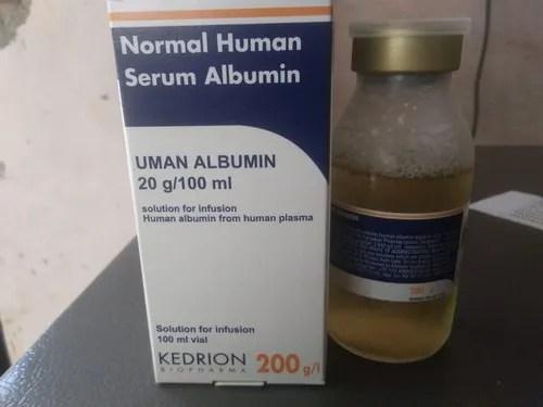 Human Albumin 20 For Hospital 20%/100 ml Rs 3900 ...