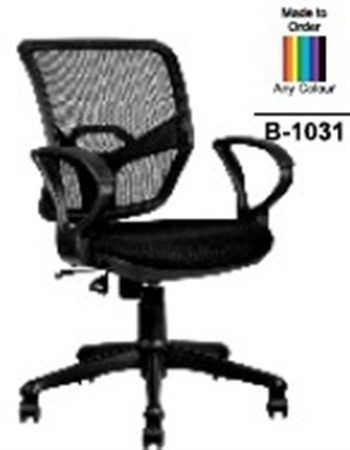 revolving chair desk small space workstation medium back manufacturer from pune