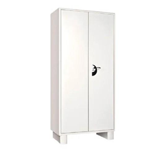 Iron Double Door White Godrej Storwel Plain Almirah Rs