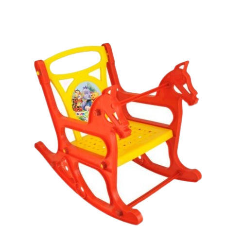 rocking chair kids caster dining chairs yellow and red horse rs 300 piece bunty