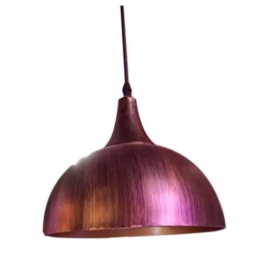 modern dome hanging light