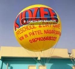 sky balloons kidzee advertising