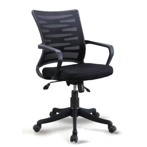 fancy office chairs plastic stool chair philippines black rotatable yes rs 2550 piece krishna