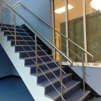 Modern Stainless Steel Stair Railing at Rs 450 /squarefeet ...
