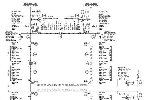 Single Line Diagram Drawings, Designing Software: Cad