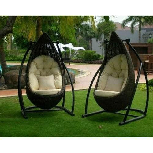 swing chair lagos upholstered slope arm dining stainless steel patio rs 28000 pair bifar id