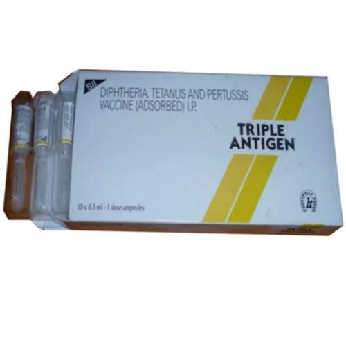 Triple Antigen Vaccine ट्रिपल एंटीजन in Vastrapur ...