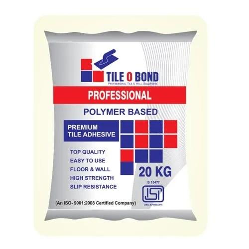isi mark type 1 professional polymer based tile adhesive
