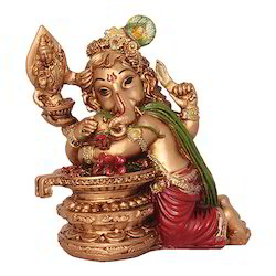 Resin God Ganesha Statue Rs 230 Onwards Twg Handicraft Id 16310209055