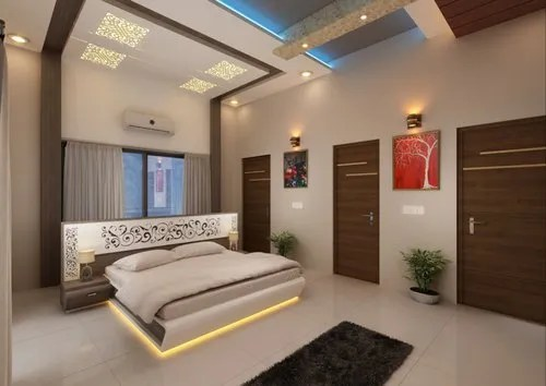 Bedroom Interior 3d Rendering Rs 2000 Unit Aim Solution Id 14500548697
