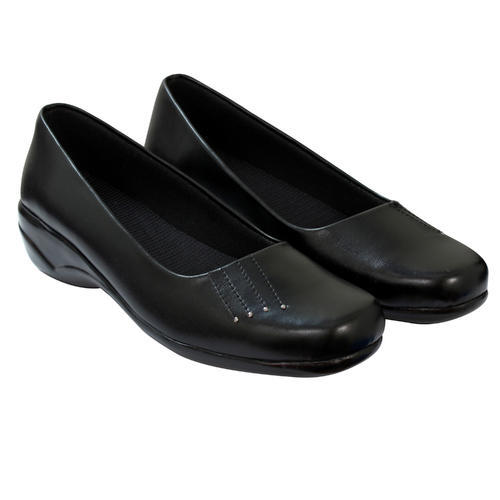 Black Slip On Shoes Ladies