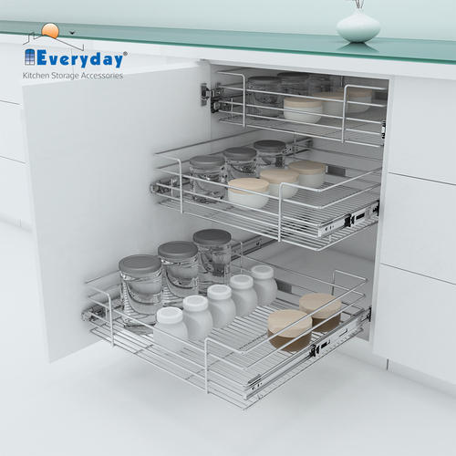 kitchen wire storage european style cabinets stainless steel everyday wb21204 basket rs 1022 piece