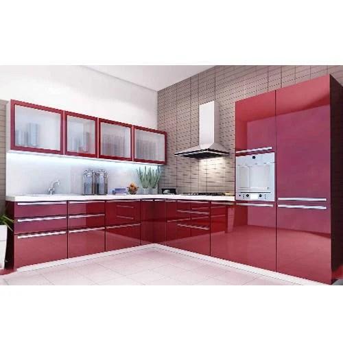 acrylic kitchen cabinets granite counters cabinet modern म ड य लर