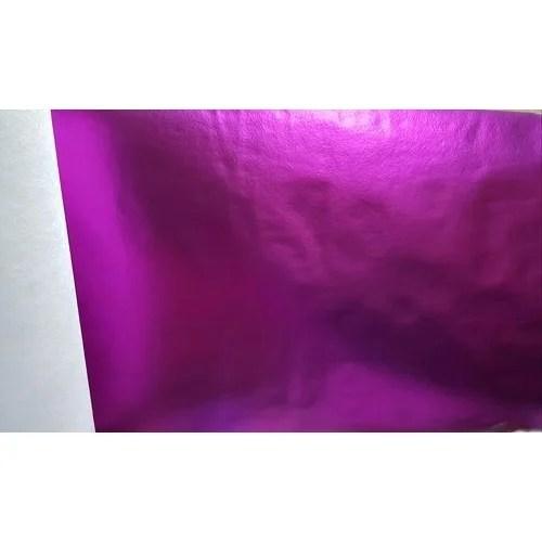 purple color metallic laminated