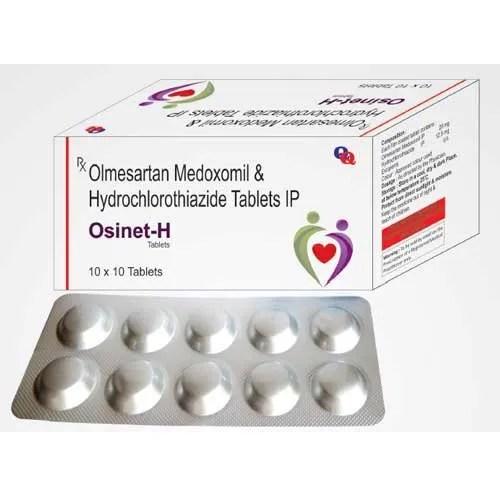 Osinet-H Olmesartan Medoxomil and Hydrochlorothiazide ...