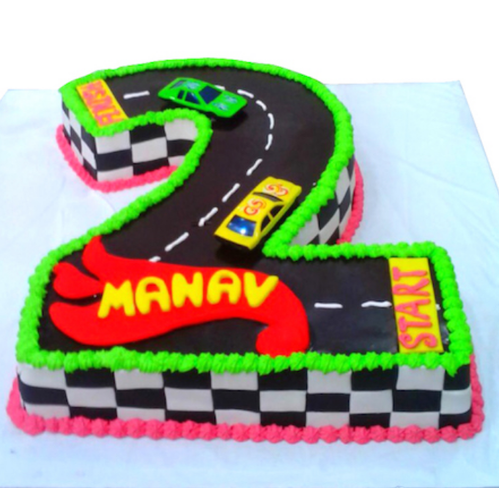 Hot Wheels Cake Birthday Cake Huckleberrys The Cake Shop Mumbai