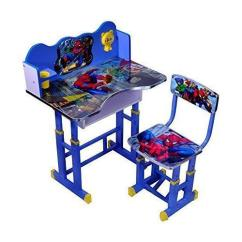 Spiderman Table And Chairs Vintage Waiting Room Wood Metal Kids Study Chair Rs 1750 Set