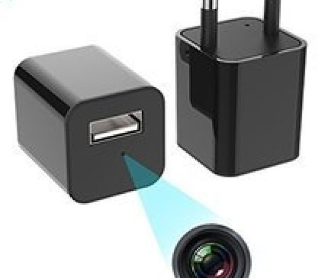 Ifitech 1080p Hd Hidden Camera Plug Usb Charger 32gb Sd Card Support 2