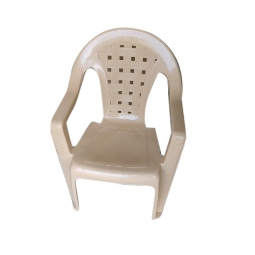Plastic Brown Armed Chair Rs 300 piece Mahavir