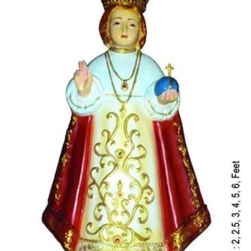 Golden Gold Plated Fibre Infant Jesus Rs 6500 Piece Kanya Krafts Id 21914925688