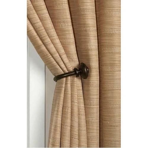 decorative curtain holdback