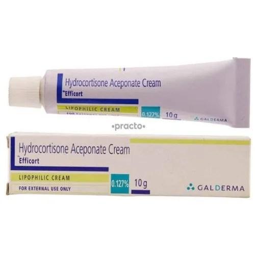 Efficort Hydrocortisone Aceponate Cream Packaging Size ...