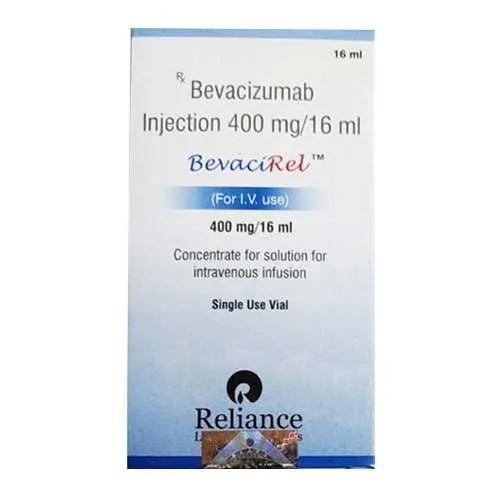 Bevacizumab (400mg) Bevacirel 400mg Injection 16 Ml In 1 ...
