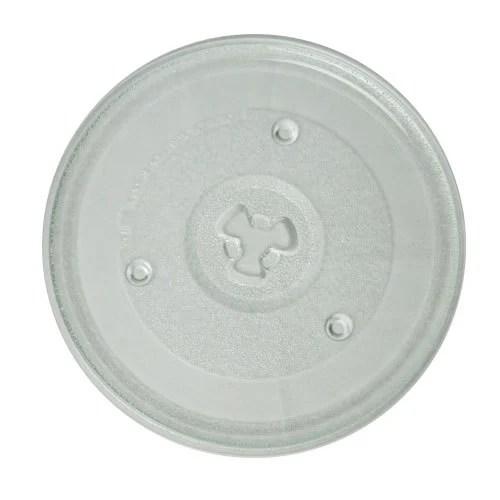 microwave glass turntable plate