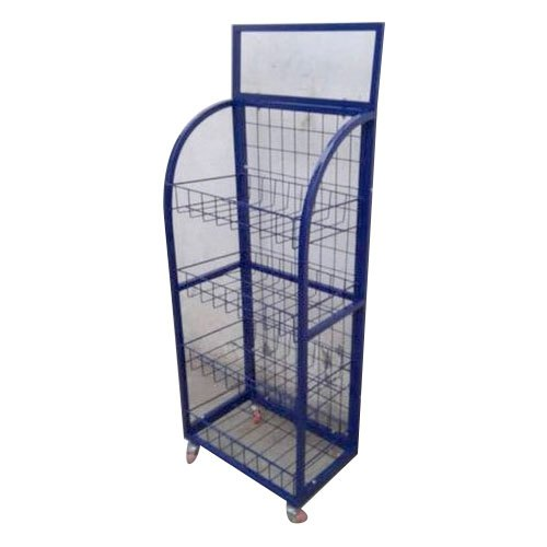 wire mesh display racks