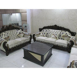 latest sofa set designs stanton customer reviews wood and rexine 5 seater designer rs 40000 id