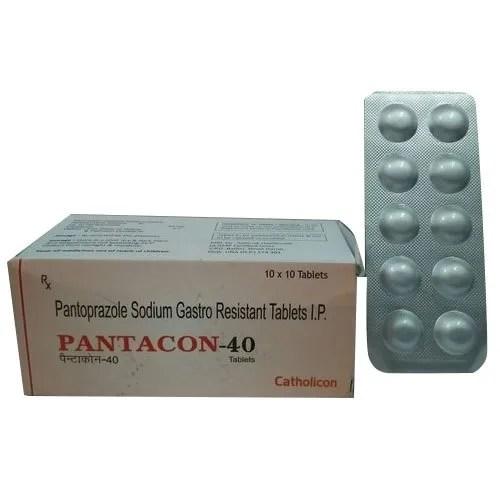 Catholicon Pantoprazole Sodium Gastro Resistant Tablets IP ...