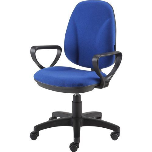 blue office chair toddler table and chairs argos fabric seat rs 4200 piece trimurti furniture