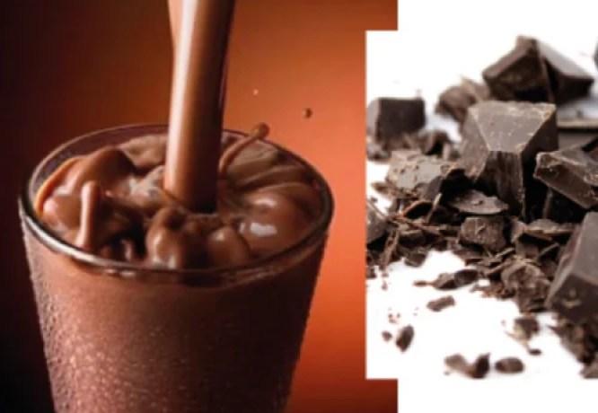 Image result for डार्क चॉकलेट शेक