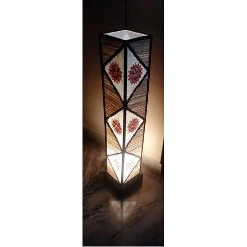 Sanjhbati Led Handmade Decorative Floor Standing Lamp For Indoor 4 Watt Rs 2000 Piece Id 17099053355