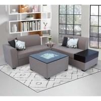 L Shape Wooden Sofa Set, L shape couch, एल शेप सोफा सेट ...