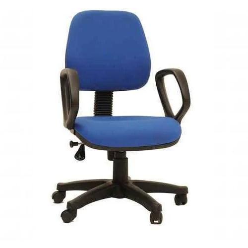 Blue Office Computer Chair Surya Cloth Hangers  ID
